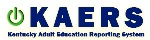 Kentucky Adult Education Reporting System (KAERS) logo